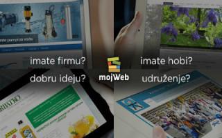 Web stranica za posao, ideju, hobi, zajednicu…