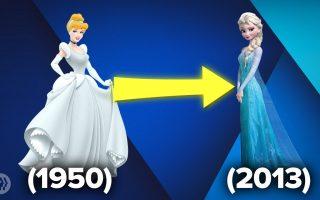 Zašto Disney Princeze izgledaju kao bebe?!