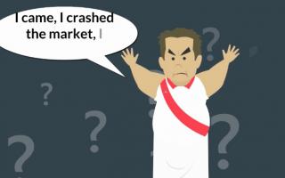 """Najveći """"pad"""" tržišta (tzv. crni ponedjeljak) objašnjen u samo jednoj minuti"""
