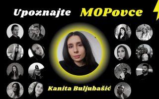 Upoznajte MOPovce: Kanita Buljubašić